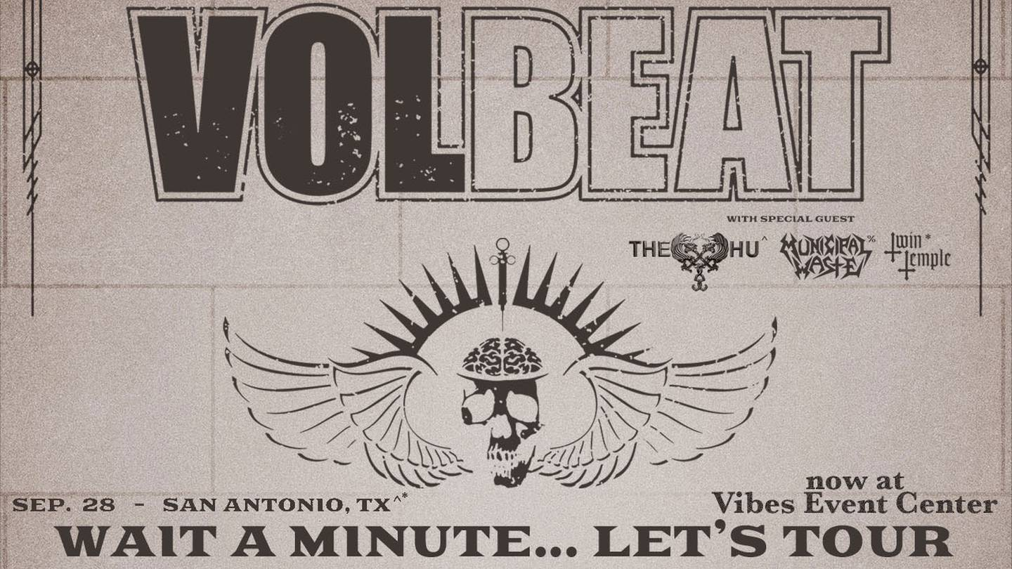 Enter to Win Tickets to Volbeat Live September 28th at Vibes Event Center