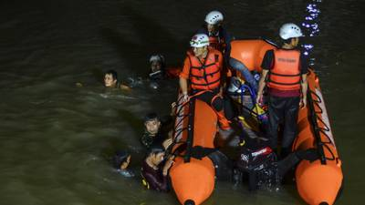 11 children drown, 10 rescued during river cleanup in Indonesia